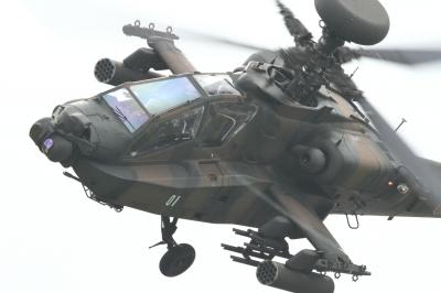soku_34507.jpg :: 明野駐屯地航空祭 AH-64D アパッチ 攻撃ヘリコプター