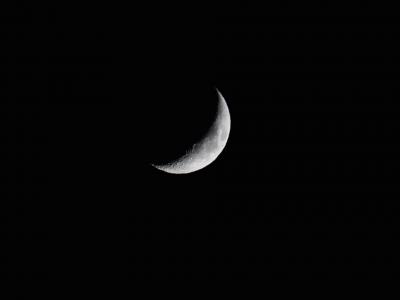 soku_34526.jpg :: 風景 自然 天体 月 三日月
