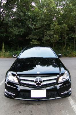 soku_34533.jpg :: 風景 郊外 車 ドライブ Cクラスクーペ カーラック仕上げ
