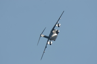 soku_34621.jpg :: 乗り物 交通 航空機 飛行機 軍用機 航空祭 入間航空祭 輸送機 C-1 機動飛行