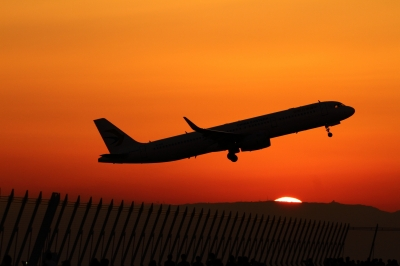 soku_34637.jpg :: 乗り物 交通 航空機 飛行機 旅客機 セントレア/中国東方航空A321