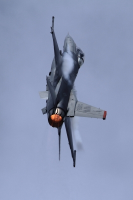 soku_34641.jpg :: 岐阜基地航空祭 乗り物 交通 航空機 飛行機 軍用機 戦闘機 F-16