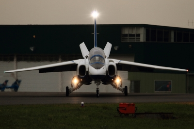 soku_34647.jpg :: 入間基地乗り物 交通 航空機 飛行機 軍用機 ブルーインパルス T-4 予行