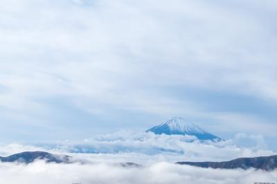 soku_34691.jpg :: 風景 自然 空 雲 山 富士山 雲海 雲海富士 org:soku_34690.cr2
