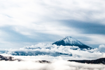 soku_34692.jpg :: 風景 自然 空 雲 山 富士山 雲海 雲海富士 org:soku_34690.cr2