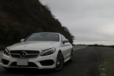 soku_34701.jpg :: 風景 郊外 車 ドライブ メルセデス Mercedes-Benz C-Class C180 Cabriolet Sports 箱根ターンパイク 標準デイライト