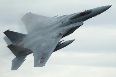 soku_34717.jpg :: 乗り物 交通 航空機 飛行機 軍用機 戦闘機 F-15J