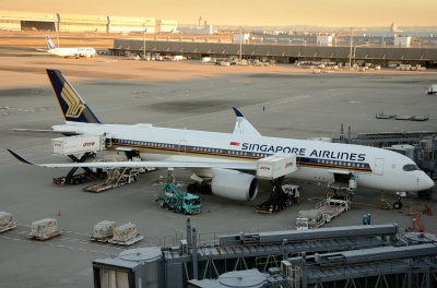 soku_34740.jpg :: 乗り物 交通 航空機 飛行機 旅客機 SINGAPORE AIRLINES