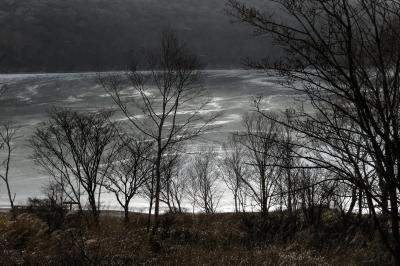 soku_34744.jpg :: 風景 自然 湖 風雪 赤城山