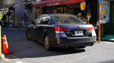 soku_34759.jpg :: 風景 街並み 車 SUBARU LEGACY 機動捜査車両