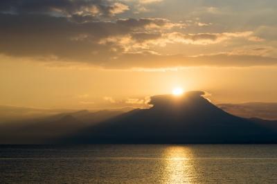 soku_34775.jpg :: 風景 自然 空 朝日 朝焼け 日の出 初日の出