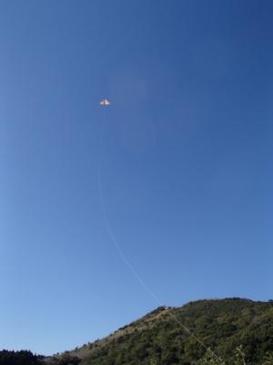 soku_34781.jpg :: 風景 自然 空 青空 カイト 凧