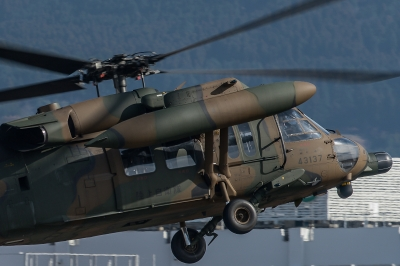 soku_34855.jpg :: 飛行機写真スレ〓第84便〓 おじさんの下手な写真 UH.60J 救難ヘリ 陸上自衛隊