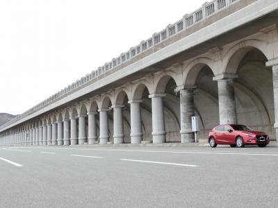 soku_35027.jpg :: アクセラ 稚内 防波堤ドーム