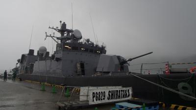 soku_35036.jpg :: PG.829 しらたか Shirataka ミサイル艇 海上自衛隊 一般公開 日向市細島商業港2号岸壁