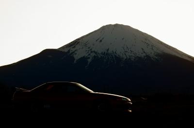 soku_35039.jpg :: 写真部@車板 風景 自然 山 富士山 スカイライン
