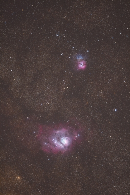 soku_35063.jpg :: 干潟星雲 三裂星雲 M20 M8