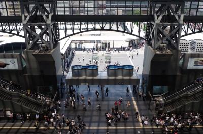 soku_35100.jpg :: 風景 街並み 駅 鉄骨
