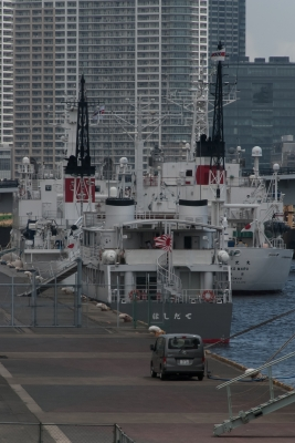 soku_35114.jpg :: 海上自衛隊 カナダ海軍 東京港晴海埠頭 ASY-91 はしだて Hashidate 迎賓艦 虎の子 超レア