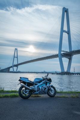 soku_35134.jpg :: CBR400RR M.O 名港トリトン バイク あんこ