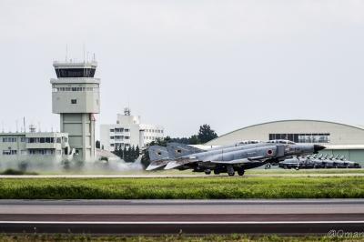 soku_35146.jpg :: 戦闘機 F-4EJ改 航空機 飛行機 航空自衛隊 百里基地 ファントム