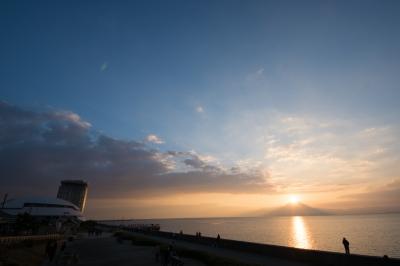 soku_35157.jpg :: 風景 自然 空 朝日 朝焼け 日の出 海