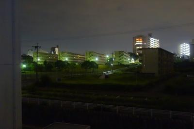soku_35159.jpg :: 風景 街並み 住宅 団地 夜景