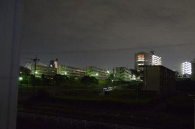 soku_35160.jpg :: 風景 街並み 住宅 団地 夜景