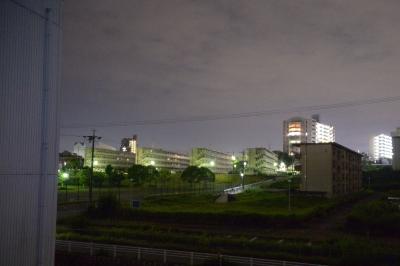 soku_35162.jpg :: 風景 街並み 住宅 団地 夜景