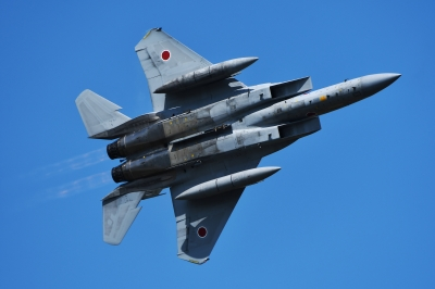 soku_35219.jpg :: 三沢基地航空祭 戦闘機 F-15J 乗り物 交通 航空機 飛行機 軍用機