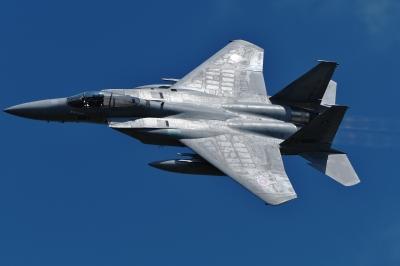 soku_35220.jpg :: 三沢基地航空祭 戦闘機 F-15 乗り物 交通 航空機 飛行機 軍用機