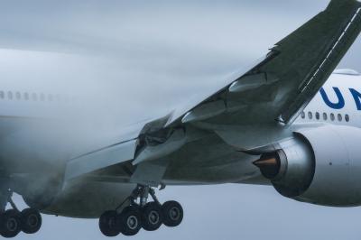 soku_35229.jpg :: 乗り物 交通 航空機 飛行機 旅客機 ベイパー