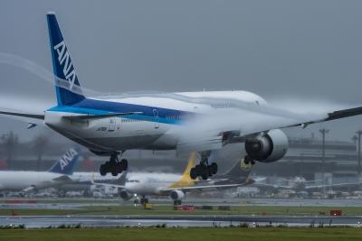 soku_35230.jpg :: 乗り物 交通 航空機 飛行機 旅客機 ベイパー