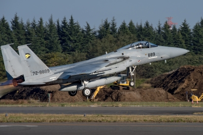soku_35291.jpg :: 乗り物 交通 航空機 飛行機 軍用機 入間航空祭 戦闘機 F-15J