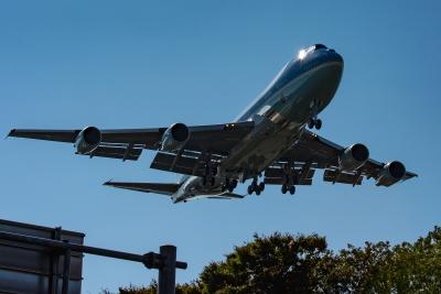 soku_35292.jpg :: 乗り物 交通 航空機 飛行機 軍用機 エアフォースワン Air-Force-One トランプ大統領 横田基地