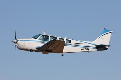 soku_35349.jpg :: 乗り物 交通 航空機 飛行機 旅客機 小型飛行機