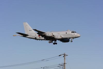 soku_35404.jpg :: 乗り物 交通 航空機 飛行機 軍用機 P.1 哨戒機