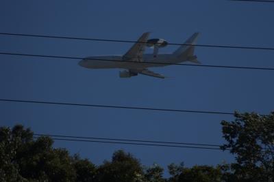 soku_35446.jpg :: 乗り物 交通 航空機 飛行機 軍用機 AWACS 早期警戒管制機
