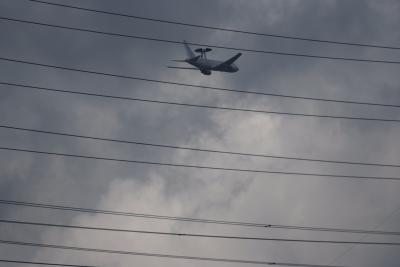 soku_35447.jpg :: 乗り物 交通 航空機 飛行機 軍用機 AWACS 早期警戒管制機
