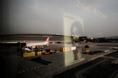 soku_35543.jpg :: チューリッヒ空港 スイス・エア (^-^)