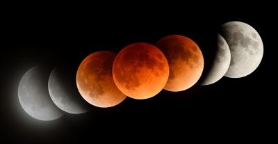 soku_35614.jpg :: 風景 自然 天体 月 皆既月食 連続写真
