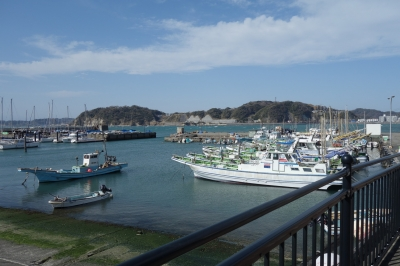 soku_35707.jpg :: 風景 街並み 郊外の風景 港町 スロープ