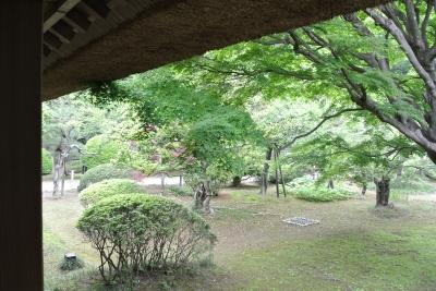 soku_35972.jpg :: 偕楽園 好文亭 街並み 和 和風 旧跡 名所