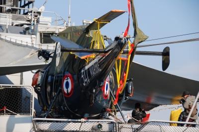 soku_36012.jpg :: 乗り物 交通 航空機 ヘリコプター 艦載機