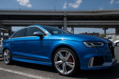 soku_36050.jpg :: 乗り物 交通 自動車 乗用車 アウディ Audi RS3 ローキー