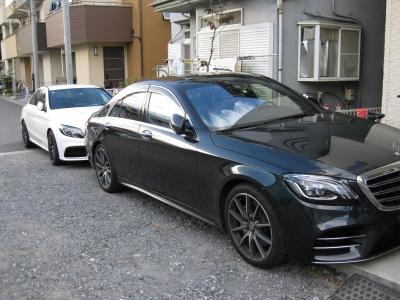 soku_36105.jpg :: S560とAMG C63 新車