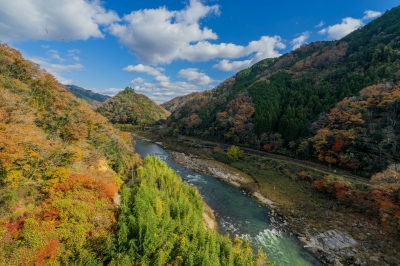 soku_36137.jpg :: 風景 自然 川 渓谷 山