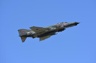 soku_36157.jpg :: シグマ120-300S 乗り物 交通 航空機 飛行機 軍用機 偵察機 RF-4EJ ファントムII