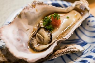 soku_36253.jpg :: 蒸し牡蠣 (^-^) 食べ物 和食 海鮮