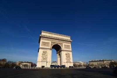 soku_36357.jpg :: フランス パリ 凱旋門